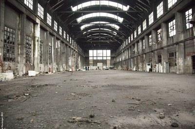 Cathédrale du Rail photo intérieure