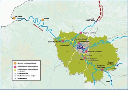 Ports de Paris prépare l'avenir de ses sites dans la métropole