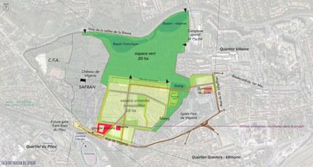 Massy : Base remporte les espaces publics du domaine de Vilgénis