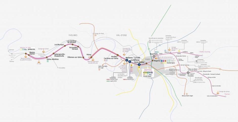 Paris : le permis de construire pour la gare Eole de la porte Maillot au conseil municipal