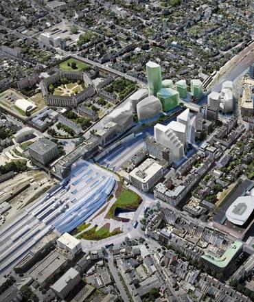 EuroRennes : cinq équipes en lice pour un projet de 30 000 m²