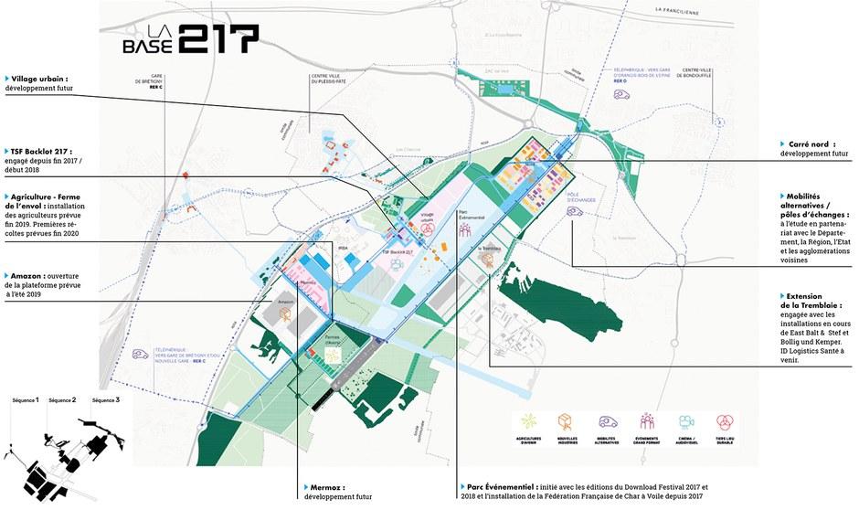 Base 217 Séquences Calendrier projet