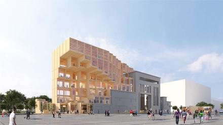 """Avec """"Odyssée Pleyel"""", Jakob+MacFarlane remporte le concours Reinventing Cities pour le site phare du quartier"""