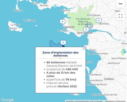 Parc éolien en mer de Saint-Nazaire – Le Conseil d'État valide l'autorisation d'exploitation
