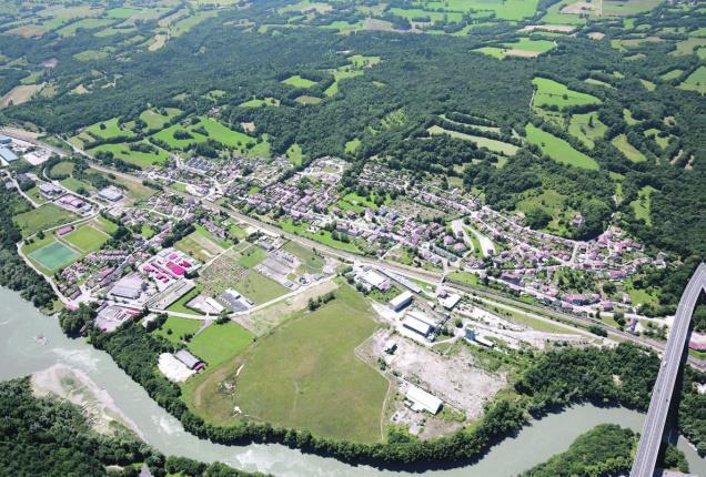 Ain : transformer un ancien site Pechiney en complexe sportif