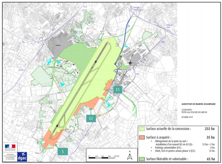 Aéroport Nantes-Atlantique : un droit de délaissement ouvert pour les logements exposés à plus de 62 décibels