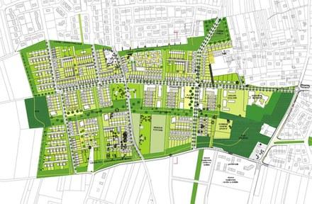 Montlouis sur Loire Hauts de Montlouis Plan Masse