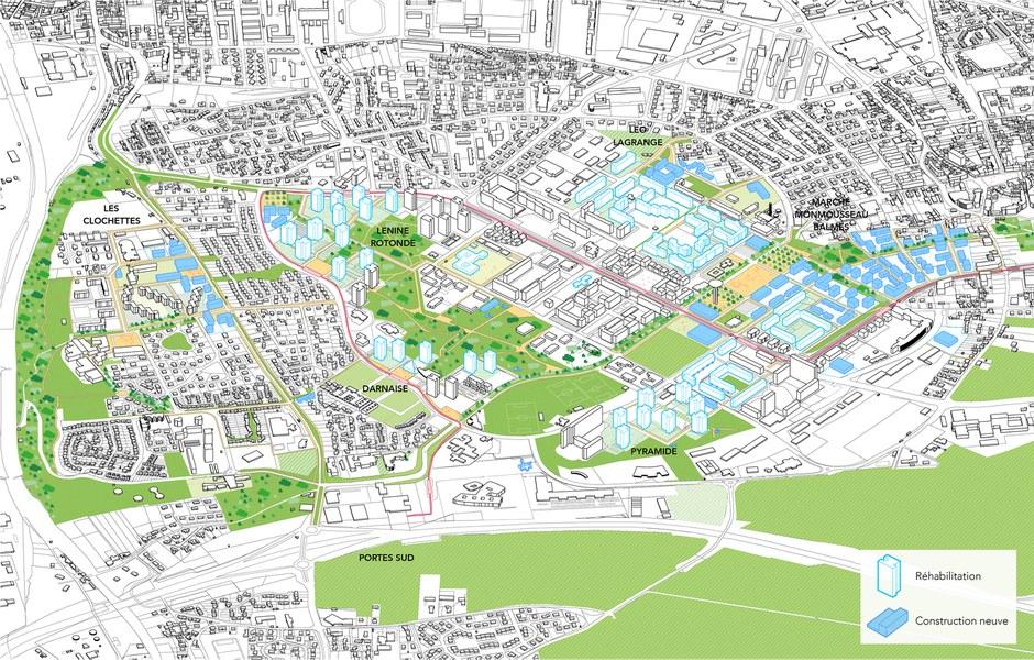 Venisssieux projet minguettes passager villes