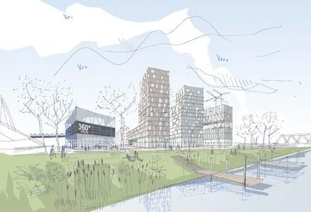 Rives et Port du Rhin : Bouygues immobilieretLinkcity vont transformer l'ancienne Cour des douanes à Strasbourg