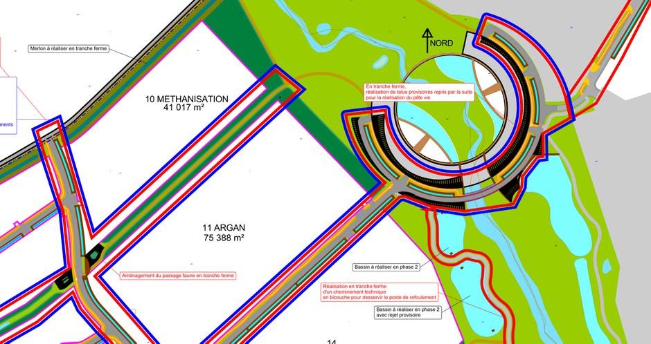 Beaujolais Lybertec plan de masse phasage CROPED