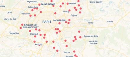 carto élections Grand Paris