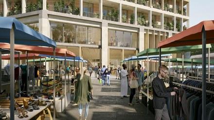 Nexity Engie Aire Nouvelle projet Puces porte de Montreuil