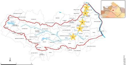 Grand Paris Métropole bassin de la Bièvre localisation secteurs de projets